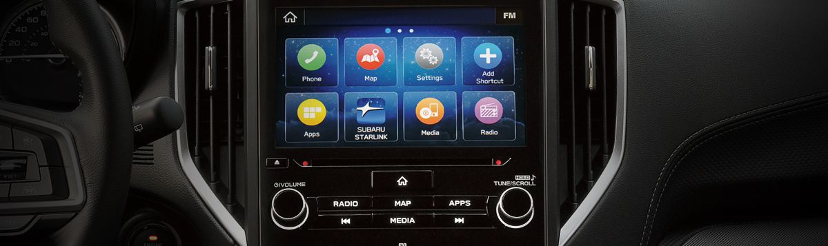 8.0-Inch Infotainment System with Available Navigation